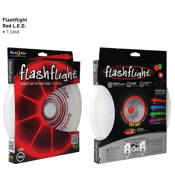 Flashflight LED Light-Up Flying Disc