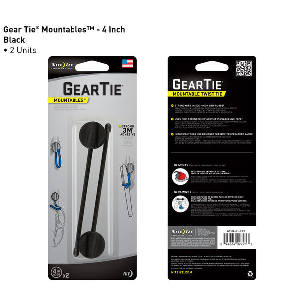 Gear Tie Mountables