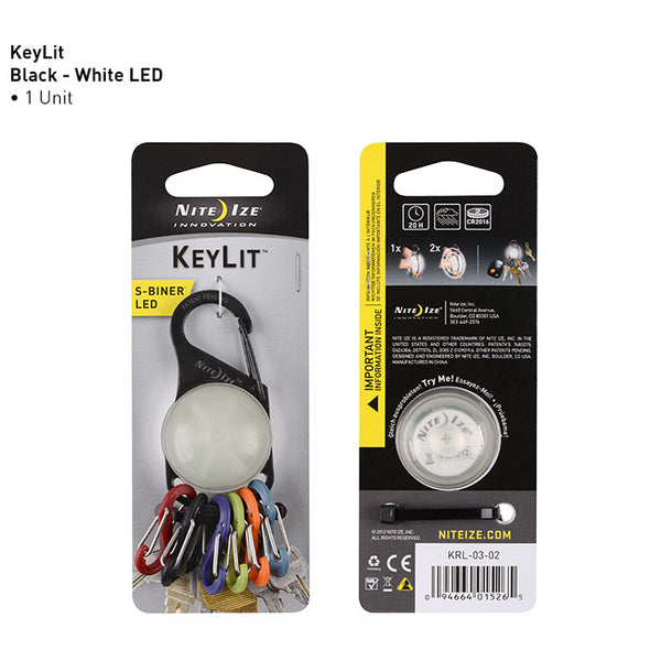 S-Biner KeyLit LED Keychain Light