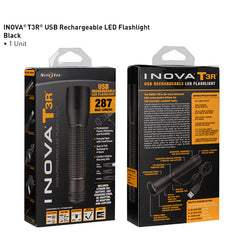INOVA T3 + T3R Flashlights