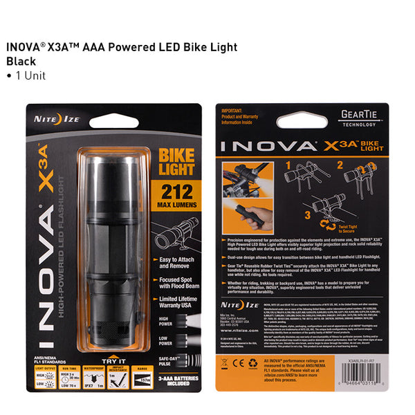 INOVA X3A Bike Light