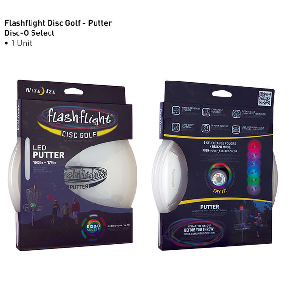 Flashflight LED Light Up Golf Disc - Putter