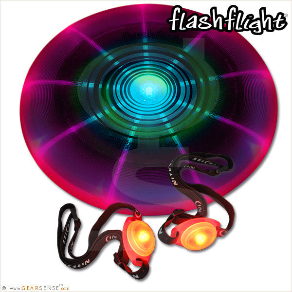 flashflight game set disc-o