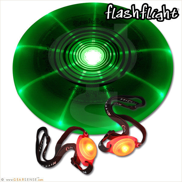 flashflight game set green