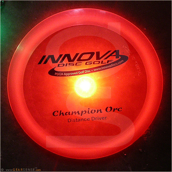 flashflight hole-in-one led golf disc light