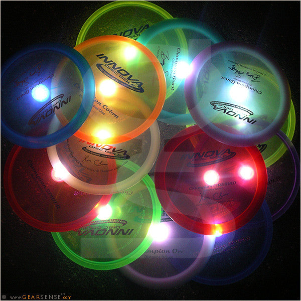 flashflight hole-in-one led golf discs