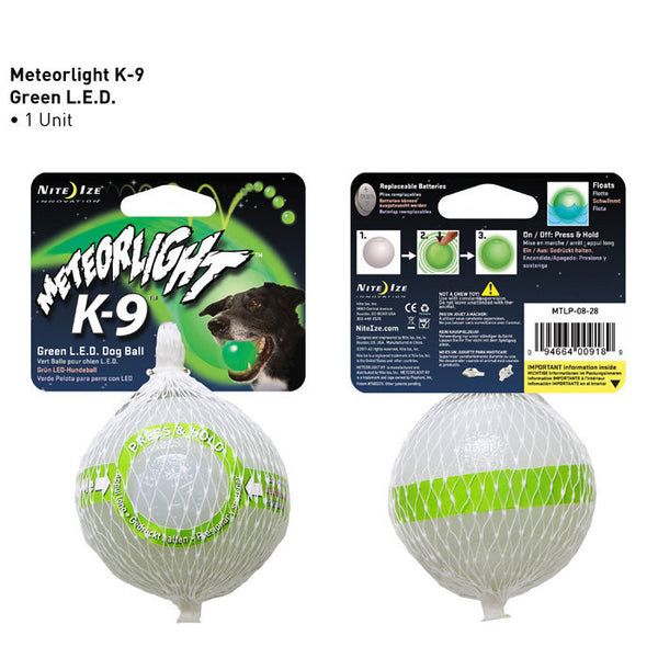 Meteorlight LED Light-Up Lacrosse Ball