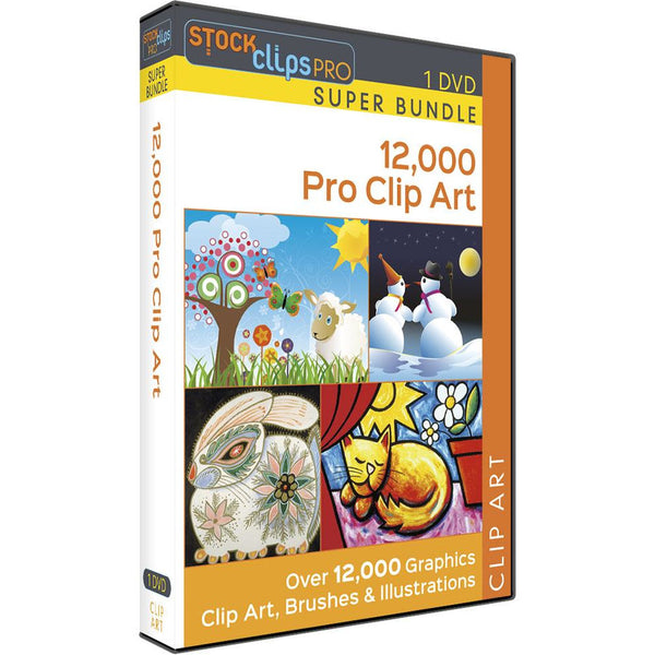 12,000 Pro Clip Art - Super Bundle