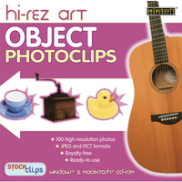Hi-Rez: Object PhotoClips (Download)