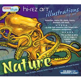 Hi-Rez Art Illustrations: Nature Clip Art (Download)