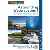 Astounding Waterscapes 1 Motion Loops (Download)