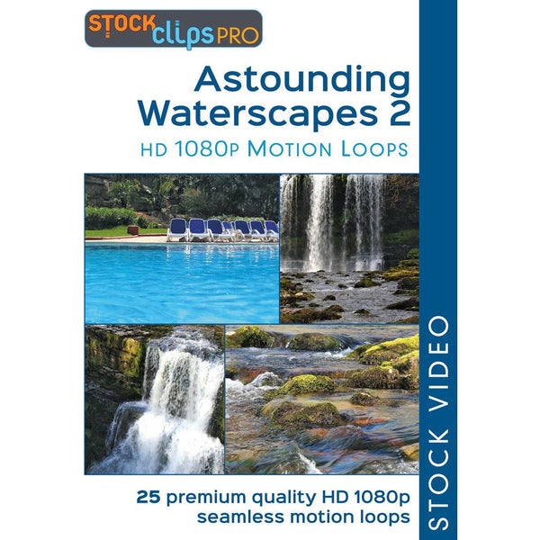 Astounding Waterscapes 2 Motion Loops