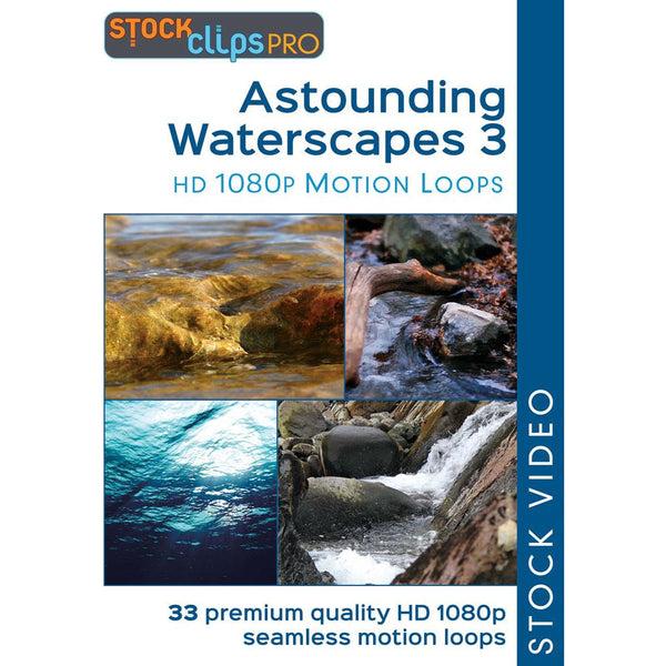 Astounding Waterscapes 3 Motion Loops