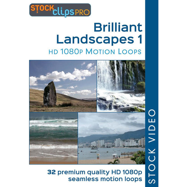 Brilliant Landscapes 1 Motion Loops (Download)
