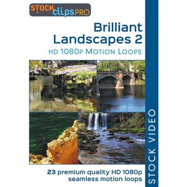 Brilliant Landscapes 2 Motion Loops (Download)
