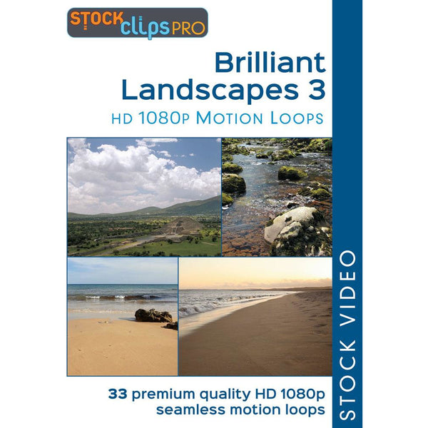 Brilliant Landscapes 3 Motion Loops (Download)