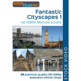 Fantastic Cityscapes 1 Motion Loops (Download)