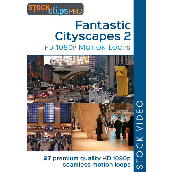 Fantastic Cityscapes 2 Motion Loops (Download)