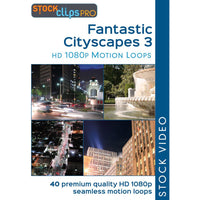 Fantastic Cityscapes 3 Motion Loops (Download)