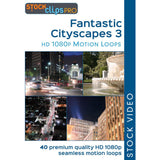 Fantastic Cityscapes 3 Motion Loops