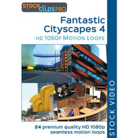 Fantastic Cityscapes 4 Motion Loops (Download)