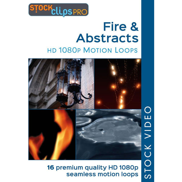 Fire & Abstracts Motion Loops (Download)