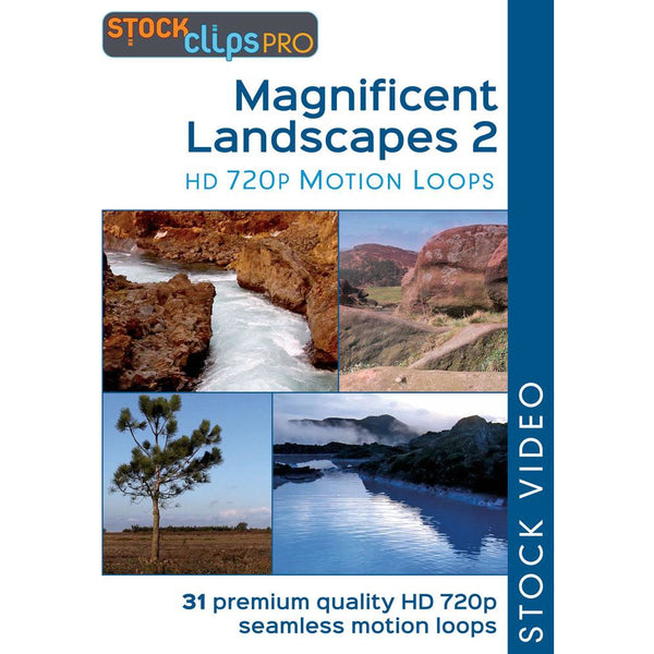 Magnificent Landscapes 2 HD 720p Motion Loops