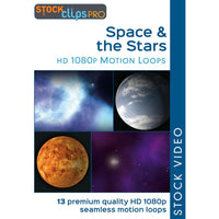 Space & the Stars Motion Loops (Download)