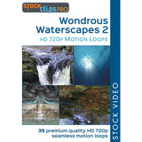 Wondrous Waterscapes 2 HD 720p Motion Loops