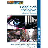 People on the Move Motion Loops