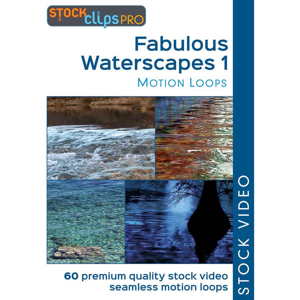 Fabulous Waterscapes 1 Motion Loops
