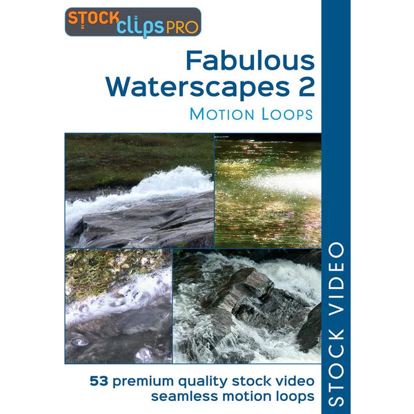 Fabulous Waterscapes 2 Motion Loops (Download)