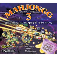 Mahjongg Championship 3: Ancient Chinese Edition (Download)