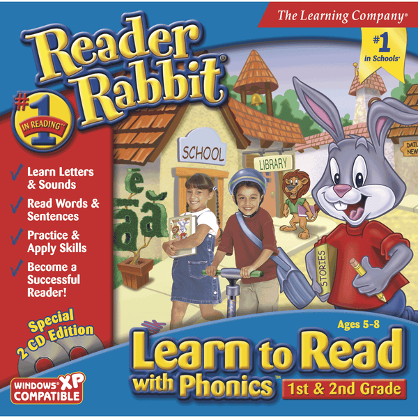 Reader Rabbit Learn to Read with Phonics 1st & 2nd Grade