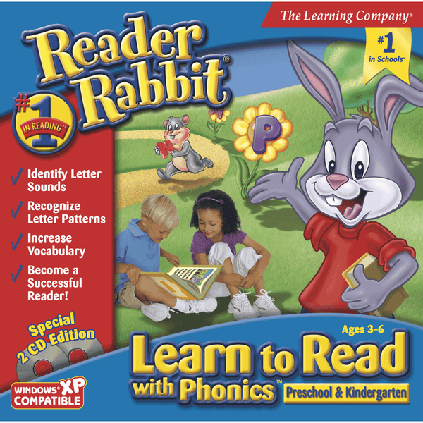 Reader Rabbit Learn to Read with Phonics Preschool & Kindergarten