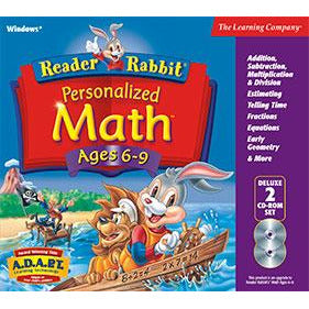 Reader Rabbit Personalized Math 6-9