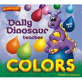 Dally Dinosaur Teaches Colors (Download)