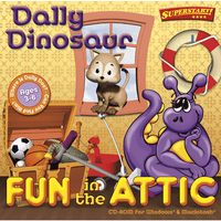 Dally Dinosaur Fun in the Attic (Download)