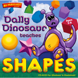 Dally Dinosaur Teaches Shapes (Download)