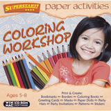 Paper Activities: Coloring Workshop (Download)