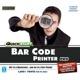 Quickstart Bar Code Printer Pro (Download)