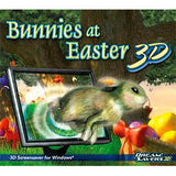 Bunnies at Easter 3D