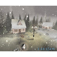 Snowy Winter Cottage 3D (Download)