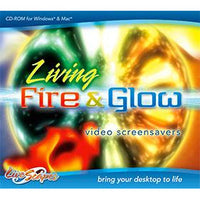 Living Fire & Glow - Video Screensavers (Download)