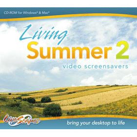 Living Summer Volume 2 - Video Screensavers