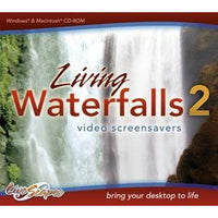 Living Waterfalls Volume 2 - Video Screensavers