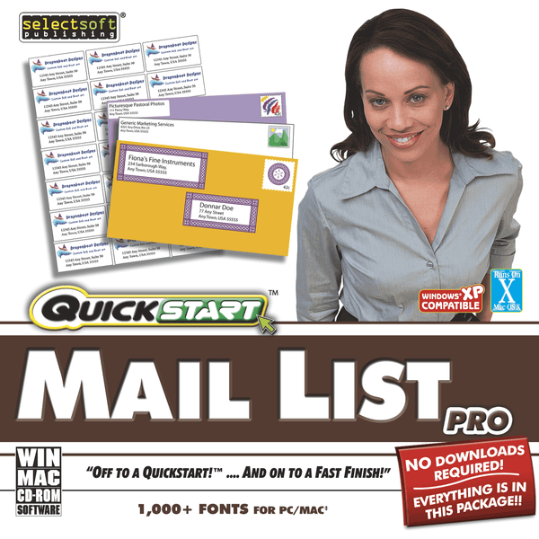 Quickstart Mail List Pro (Download)