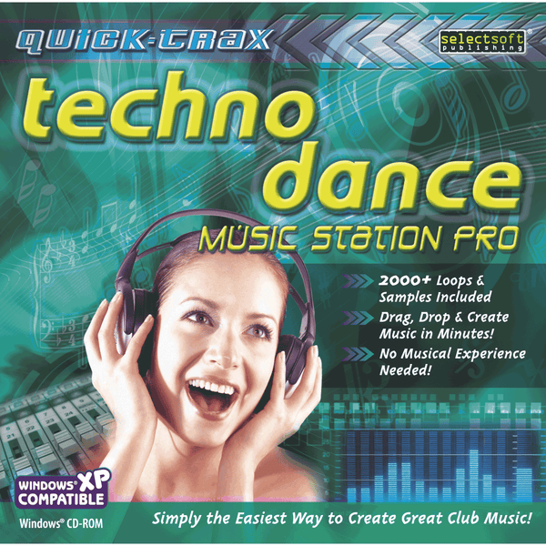 Quick-Trax Techno Dance Music Station Pro (Download)
