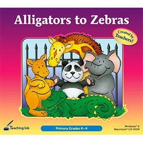 Alligators to Zebras (Gr. K-4) (Download)