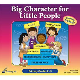 Big Character for Little People Primary Grades 2-3 (Download)